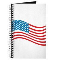 American Flag Wave Journal