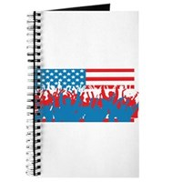 4th July Flag Celebrations Journal