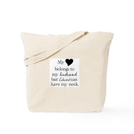 Twilight Edward Cullen Husband Tote Bag
