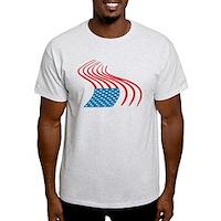 Flag Paint Graffiti Light T-Shirt