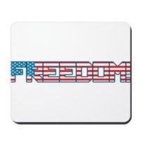 Freedom Flag Mousepad