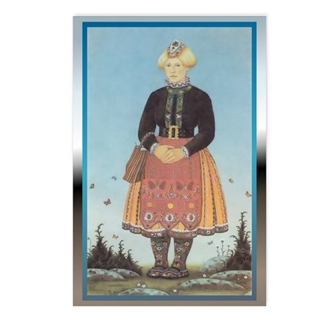 Muhu Garb Postcards (Package of 8)