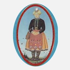 Muhu Garb Oval Ornament