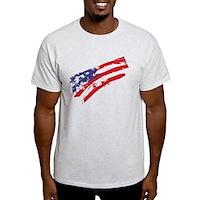 Graffiti USA Flag Light T-Shirt