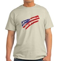 Graffiti USA Flag Light T-Shirt