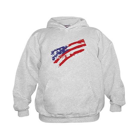 Graffiti USA Flag Kids Hoodie