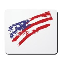 Graffiti USA Flag Mousepad