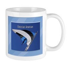 Estonian Amerian & Flag Mug