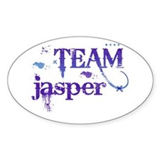 Team Jasper Oval Decal