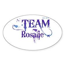 Team Rosalie Oval Decal
