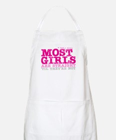 Pink L-Word Quote BBQ Apron