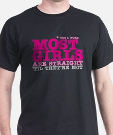 Pink L-Word Quote T-Shirt