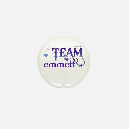 Team Emmett Mini Button