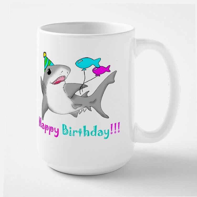 Happy Birthday Large Mug