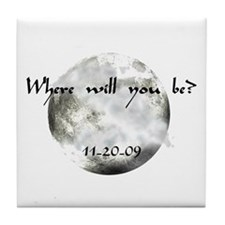 New Moon Premiere Tile Coaster