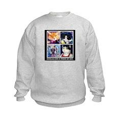 Animals are a Work of Art Sweatshirt