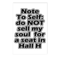 Hall H Note To Self Postcards (Package of 8)