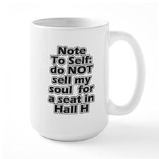 Hall H Note To Self Mug