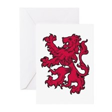 Aslan Is On The Move Greeting Cards (Pk of 10)