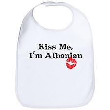 Kiss Me, I'm Albanian Bib