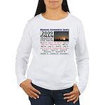 Onan Schedule Women's Long Sleeve T-Shirt