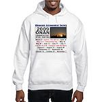 Onan Schedule Hooded Sweatshirt