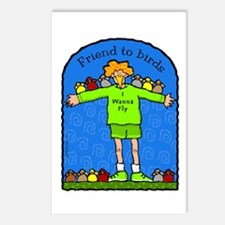 Friend to Birds Postcards (Package of 8)
