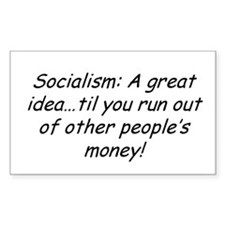 Socialism Rectangle Decal