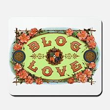 BLOG LOVE Mousepad