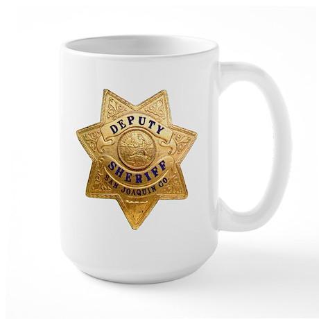 San Joaquin Sheriff Large Mug