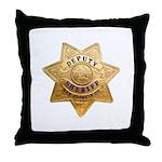 San Joaquin Sheriff Throw Pillow