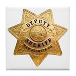 San Joaquin Sheriff Tile Coaster