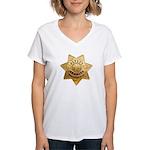 San Joaquin Sheriff Women's V-Neck T-Shirt