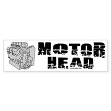 Motor Head Bumper Bumper Sticker
