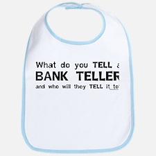 Tell A Teller Bib