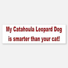 Catahoula Leopard Dog Smarter Bumper Bumper Bumper Sticker