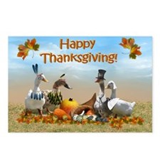 Cute Funny thanksgiving Postcards (Package of 8)