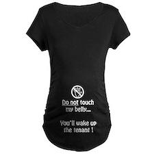 Do not touch my belly Dark T-Shirt