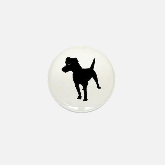 Patterdale Terrier Mini Button