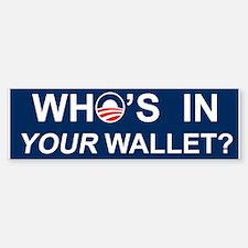 Wallet Bumper Bumper Sticker