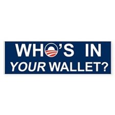 Wallet Bumper Sticker