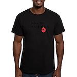 Kiss Me, I'm 1/4 Irish Men's Fitted T-Shirt (dark)