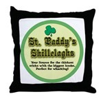 St. Paddy's Shillelaghs! Throw Pillow