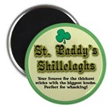 St. Paddy's Shillelaghs! Magnet