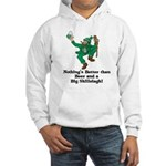 Beer and a Big Shillelagh! Hooded Sweatshirt