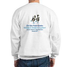 Blue Footed Boobies 3-Day Tea Sweatshirt