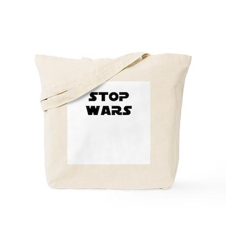 Stop Wars -- T-shirts Tote Bag