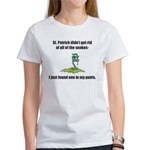 St. Patrick's Day Snake in My Pants Women's T-Shir
