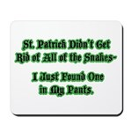 There's a Snake in My Pants! Mousepad
