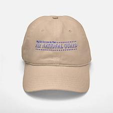 My Air Guard Girl Baseball Baseball Cap